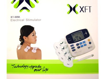 XFT-320A DUAL TENS MACHINE DIGITAL MASSAGE + ACCUPUNCTURE PEN body massager