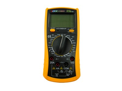 VICTOR VC890D Digital Multimeter True RMS digital multimeter capacitor 2000uF