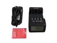 N100 Intelligent Digital Battery Charger Tester LCD Multifunction for 4 AA AAA Rechargeable AKKU Better than BM110