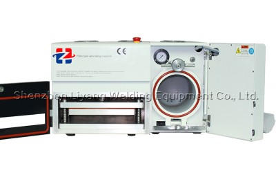 2015 New,LY 900 all-in-one MAG OCA vacuum laminating machine with built-in bubble remove machine for 12 inch screens