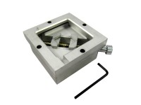 80 x 80mm silver HT-80 BGA reballing station, 80mm BGA reballing jig, stencil holder