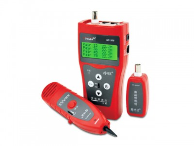 Hot sell NF-308 Network Ethernet LAN Phone Tester NF308 Multipurpose Cable Wire Tracker Length Test 5E 6E Cable Coaxial RJ45