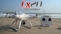 2015 newest gift Cheerson series CX-20 Professional RC Drone CX20 RTF with GPS & Auto Return FPV rc quadcopter