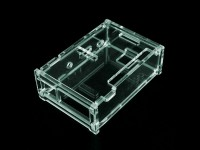 Latest 100% Pi Box ABS Plastic Transparent case for Raspberry Pi model b plus & Raspberry Pi 2 + 3 pcs pure aluminum heat sink