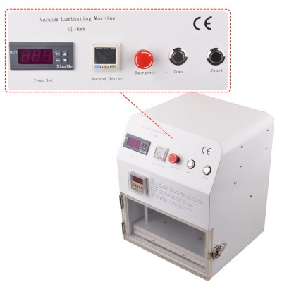 Vacuum Laminating Machine LY-688 Laminator Mobile Phone Repair Machine For 12 inch LCD Screen