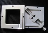 80*80mm Stencils Template holder jig, HT-80 silver BGA reballing station