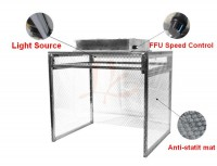 LY 910 assembled anti-static non-dust potable desktop work platform work table easy install 110V 220V compatible