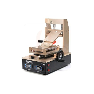 LY 904 OCA glue and polarizer remover 3 in 1 pre-heating separator glue & polarizer removing