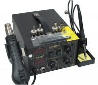 Hot air soldering station SAIKE 852D+ Hot air gun and soldering iron 2 in 1
