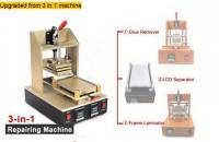 5 in 1 Multifunction Bezel Middle Frame Separator Machine + Vacuum LCD Separator + Glue Remover + Frame Laminator + Preheater