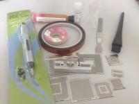 BGA Reball Station Stencil Holder Jig kits +5 PCS for XBOX + 3 PCS for PS3 Heat Direct +Solder Balls reballing