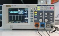 Hot selling Digital Oscilloscope Rigol DS1102CA 100Mhz 2GSa/s sampling rate Colour display