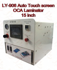 LY 906 auto touch screen OCA vacuum laminating machine for 15 inch LCD screens
