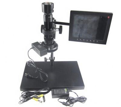 30-180X KE208-A Electron Zoom Video Microscope KE-208A with VGA Interface