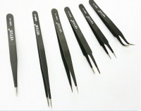 6pcs/lot Anti-Static tweezers Vetus bga ESD Tweezers ESD-10 ESD-11 ESD-12 ESD-13 ESD-14 ESD-15