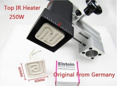 110V 250W original German Elstein ceramic heating plate 60mm*60mm for BGA station IR9000