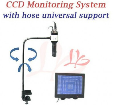 """LY cobra CCD camera supervising system with 8"""" TFT monitor for BGA observing"""