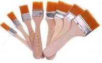 hot sale 8pcs PCB Dust Clean Soft BGA Rework Anti-static Brush