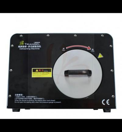 LY 965 multi-functions 3 in 1 Built-in Air Compressor Vacuum Pump LCD Screen Refurbish Debubbler Defoaming Machine