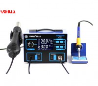 2 in 1 Lead Free SMD solder station Yihua 992D, Hot air gun & solder iron