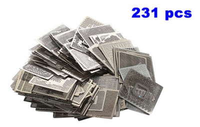 Direct Heat notebook Stencils 231pcs for Laptop only