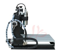 Best water jet cutting machine price CNC Router 3040 Z-S 1500W spindle, can work for wood, PVC,aluminum,metal etc.