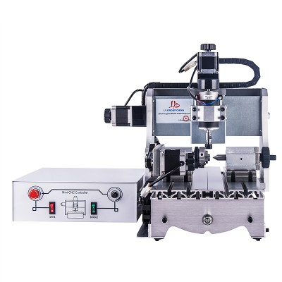 Mini CNC Router Engraver 3020T 300W Milling Machine 3 axis 4 axis