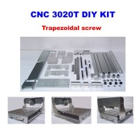 CNC 3020T DIY Frame Kit with trapezoidal screw, optical axis and bearing