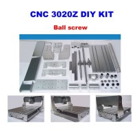 3020Z DIY CNC Frame Kit with ball screw, optical axis and bearing