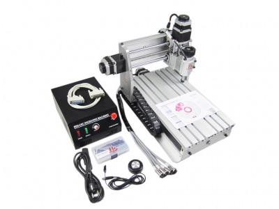 CNC 3020 Z-DQ With Ball Screw Milling Router Engraving Machine Desktop Mini Engraver