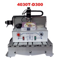 LY 300W spindle CNC carving machine 3040T-D300 CNC engraver with high efficient