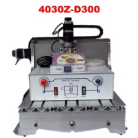 LY 300W spindle ball screw drilling machine 3040 Z-D300 carving machine for wooden cutter