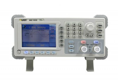 Owon AG1022 Series AG DDS Arbitrary Waveform Generator, 2 Channels, 25MHz, 125MSa/S Sample Rate