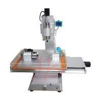 2016 newest 6040 CNC Router 4 Axis CNC Machine Drilling Milling Machine Engraver Machine High-Precision Ball Screw Table Column Type 1500W/2200W