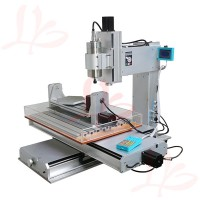 2016 newest 6040 CNC Router 5 Axis CNC Machine Drilling Milling Machine Engraver Machine High-Precision Ball Screw Table Column Type 1500W/2200W