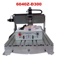 Economic 300W cnc router 6040 CNC engraving machine wood milling machine