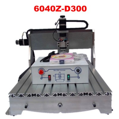 Economic 300W cnc router 6040 CNC engraving machine wood milling machine