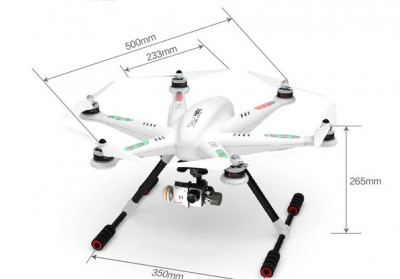 Walkera TALI H500 FPV Drone Hexacopter RTF With DEVO F12E Battery G-3D Gimbal Charger ILOOK+ Full Set