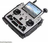 Walkera Scout X4 GPS Drone RC Quadcopter Devo F12E G-3D Gimbal ILook plus camera FPV