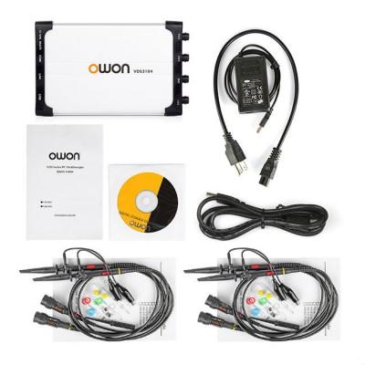 New OWON Oscilloscope 100MHz VDS3104 1G/s LAN USB PC Based Handheld Portable Oscilloscope