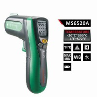 MASTECH MS6520A 10:1 Digital Infrared Thermometer Non-contact IR thermometer Temperature Meter -20 ~300 Celsius Laser Pointer