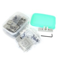 Direct heating BGA reballing stencil kit 810 pcs/set brand new original free gift direct heat jig
