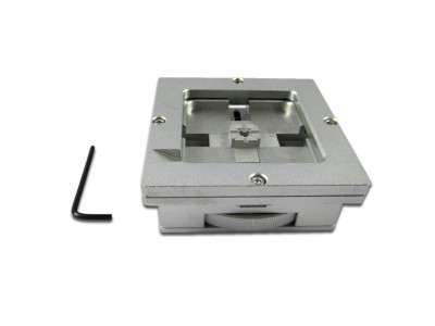 LY RD-90 Rotary BGA reballing station, auto locking adjustment 90mm BGA reballing jig stencil holder