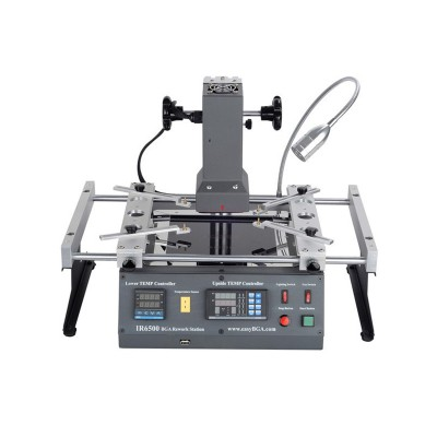 Free shipping ACHI IR6500 infrared BGA Soldering Rework Station IR 6500 For Motherboard Chip PCB Refurbished Repair System Solder Welding 220V