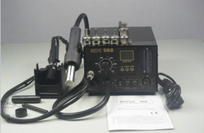 Aoyue 968 SMD 3 in 1 soldering station SMD/SMT Hot Air,bga solder station
