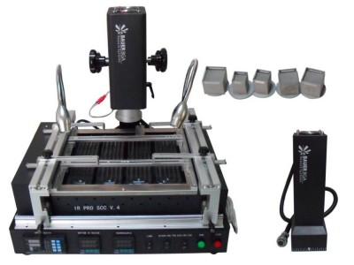 BAUER IR PRO SCC V.4 rework station with IR and Hot air 2 in 1 top heat system