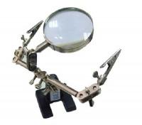 BEST-168Z electronic maintenance magnifying glass holder clip-on magnifier desktop magnifier