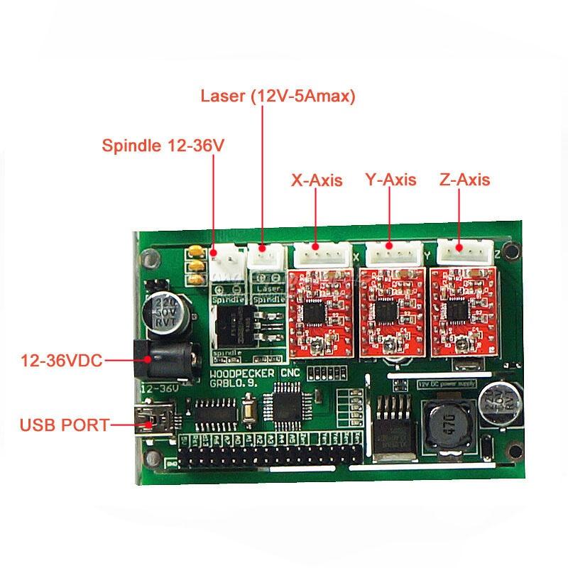CNC 3018 PRO + laser (9)