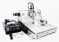 CNC 6040 Z-S65J 800W 4 Axis Milling Router Engraving Machine Desktop Engraver