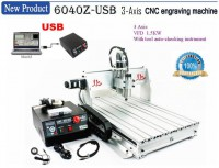 USB Port CNC 6040 Z-USB 1.5KW Milling Router Engraving Machine Desktop Engraver With Manul Mach3 Control